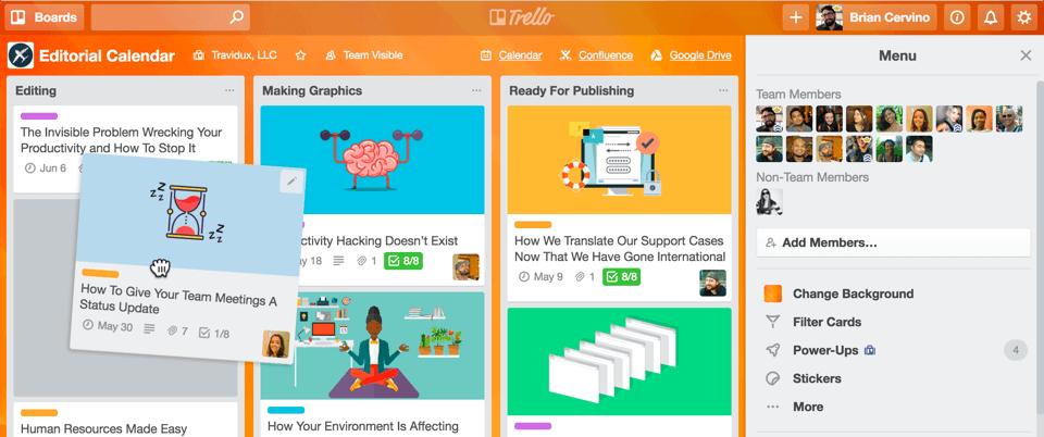 Trello - Project Management Tools