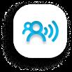 Remote teams management icon