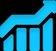 Increase revenue icon