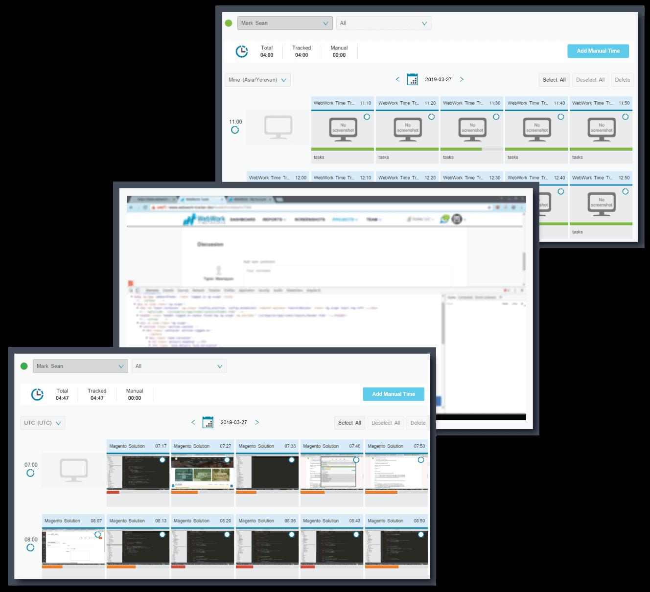 Screenshot modes | WebWork Time Tracker