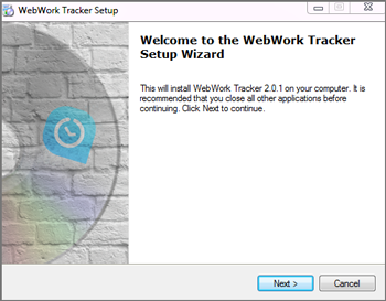 How to install WebWork Time Tracker on Windows