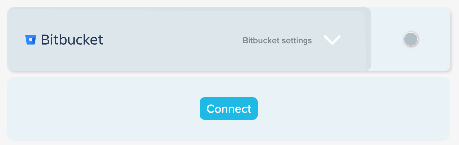 Connect to Bitbucket integration