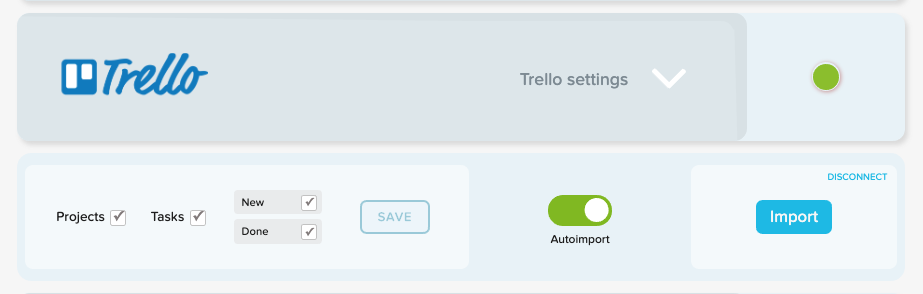 Track time on Trello projects and tasks